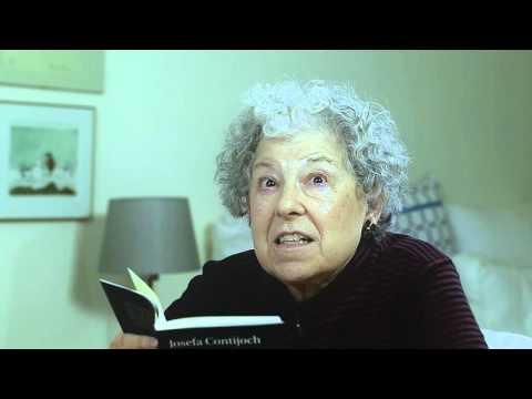 """Conversa amb Josefa Contijoch. 13. Poema """"actes inconnexos"""""""