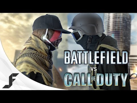 Jackfrags - Battlefield 4 vs Call of duty ghost (Rap Battle)