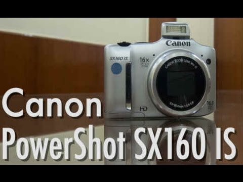 Canon Powershot SX160 IS   Video Review