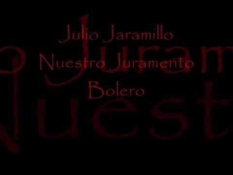 Julio Jaramillo   Nuestro Juramento   Pista Karaoke