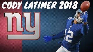 Cody Latimer 2018 Giants Highlights