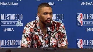 Damian Lillard Postgame Interview - Team LeBron vs Team Giannis | 2019 NBA All-Star Game