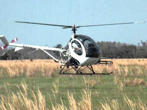 Helicoptero Schweizer 300 First Solo in a Schweizer 300