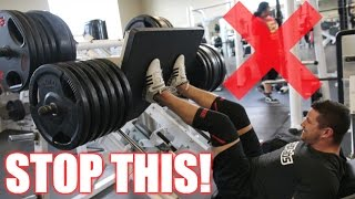 How to PROPERLY Leg Press   3 Leg Press Variations for Muscle Gain