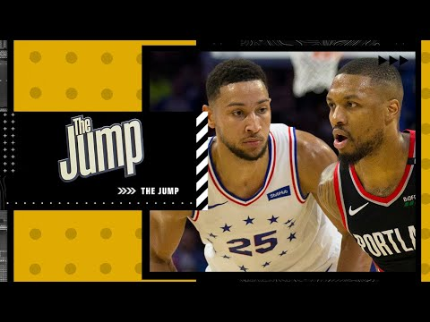 Is Damian Lillard or Ben Simmons more likely to stay with their teams? | The Jump