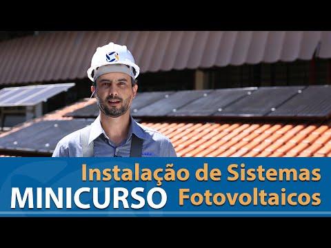 MINICURSO: Instalação de Sistemas Fotovoltaicos