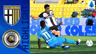 Parma 2-2 Spezia | Parma Come from Behind to Secure Draw | Serie A TIM