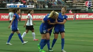 Highlights: Megan Rapinoe's hat trick gives Seattle 5-4 win over Sky Blue FC