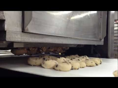 Magna Mixer Automated Cookie Depositor with Pneumatic Indexing and Paper Cutting
