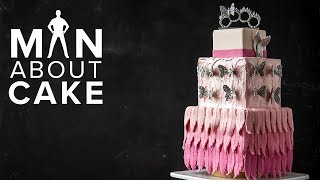 Dressed to Thrill💃 Couture Fashion Cake | Man About Cake with Joshua John Russell