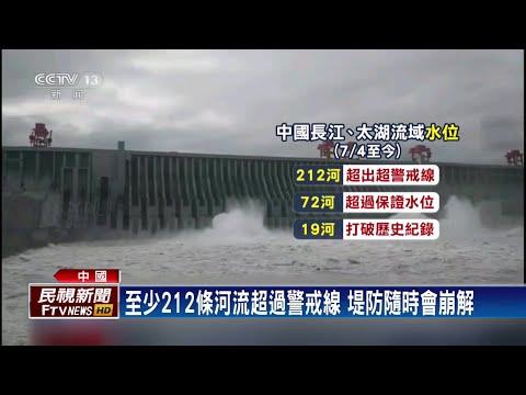 中國鄱陽湖流域多處潰堤 水位超越歷史紀錄-民視新聞