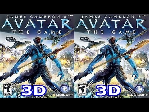 J. C. Avatar The Game 3D VR TV Cardboard video SBS by 3D VR TV Game Video