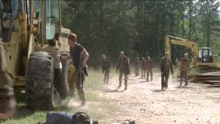 The Walking Dead 5x14 Abraham saves Francine