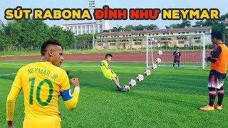 Thử Thách Bóng Đá Với Quang Hải Nhí Neymar Hà Tĩnh Sút Rabona đẳng cấp PVF mùa World Cup 2018