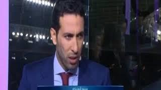 أبو تريكة ينفعل على الهواء بعد إصابة محمد صلاح ويصف راموس بـ المجرم ...