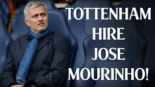 **BREAKING NEWS** JOSE MOURINHO SIGNS 3 YEAR DEAL AS NEW TOTTENHAM MANAGER (Instant Reaction)
