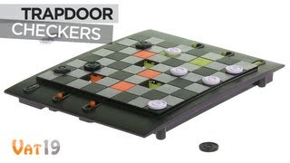 Trapdoor Checkers is way awesomer than regular Checkers