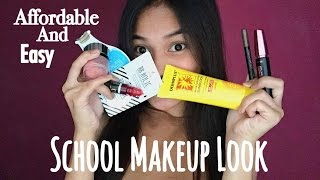 AFFORDABLE SCHOOL MAKEUP TUTORIAL ( EASY & GO-TO!) | Philippines