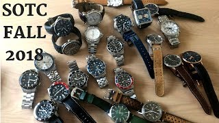 SOTC - My Watch Collection Fall 2018