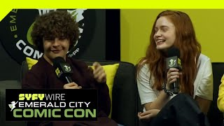 Stranger Things Cast On Season 3 | ECCC 2019 | SYFY WIRE