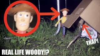 CAPTURING WOODY IN REAL LIFE! *Toy Story 4 IRL!*