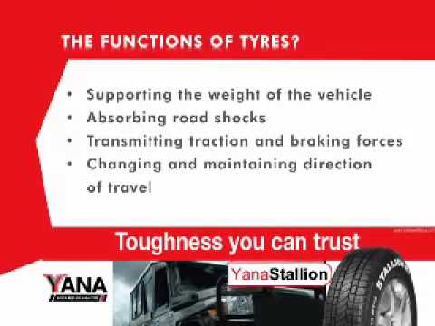 Yana Tyre Care_Functions of tires