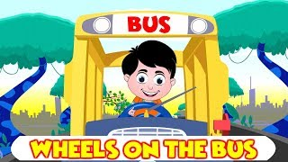Wheels On The Bus | Nursery Rhymes for Babies | Kids Songs | Videos for Kids | Kids Comic TV