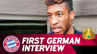 """""""I feel very good here"""" - Kingsley Coman in his first German Interview"""
