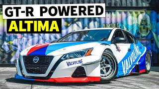 New Shop + 1300HP Altima = PARTY! Chris Forsberg Destroys our New Shop as our First Guest HHH Ep.002