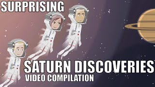 Major Surprising Saturn Discoveries - Video Compilation