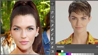 Ruby Rose Photoshops Herself Into 7 Different Looks | Allure