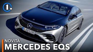 Mercedes EQS | La SUPER elettrica DI LUSSO da 770 km che sfida la Tesla Model S