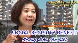MC VIỆT THẢO- CBL(791)- SOCIAL SECURITY BENEFIT- với ALICIA CHAU - January 12, 2019