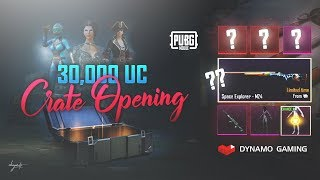PUBG MOBILE | 30,000 UC CRATE OPENING | DYNAMO GAMING