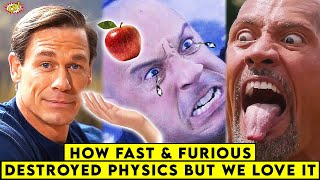 How Fast & Furious Destroyed PHYSICS, But WE Still LOVE IT || ComicVerse
