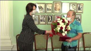 Мэр Омска Оксана Фадина с наступающим днём города поздравила Валерия Алексеева