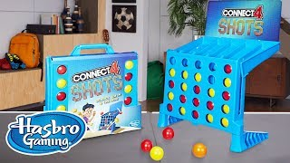 'Connect 4 Shots Game' Official Spot – Hasbro Gaming