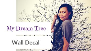 Wall Decal ideas for Room Decor🌿  My Dream Tree