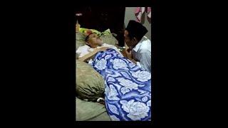 HARU!!! Momen Gus Baha Menjenguk KH Minan Abdillah Kajen sebelum Wafat
