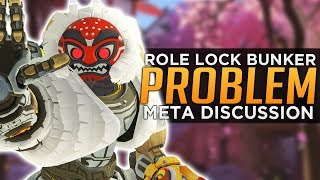 Overwatch: 2-2-2 Role Lock Bunker Problem - Meta Discussion