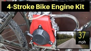 Are 4-Stroke Bike Kits better than 2-Stroke Kits?  Let's find out!