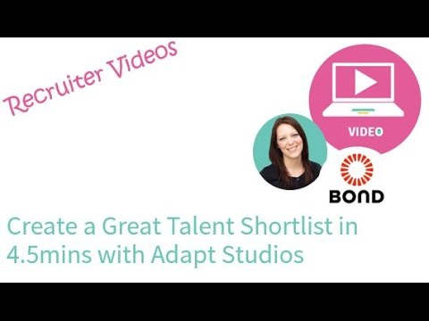 Place Candidates Quicker with Bond Adapt Studios