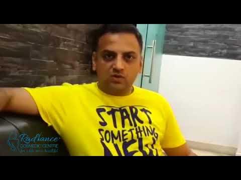 Prasund Testimonials | Hair Transplant Result in India at Radiance Cosmedic Centre