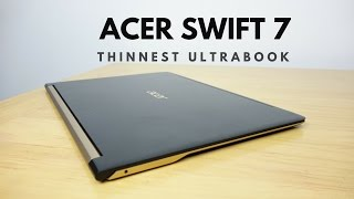 Acer Swift 7 Review: Thinnest Laptop