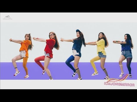 Red Velvet - Dumb Dumb Dance Compilation [Mirrored]