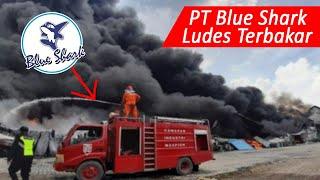 PT. Blue Shark Kebakaran, Pabrik Mebel Plastik di Manyar Gresik Inipun Ludes