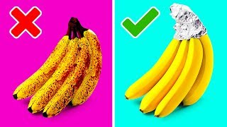 38 SMART HACKS WITH FRUITS AND VEGETABLES TO MAKE YOUR LIFE SO MUCH EASIER