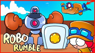 ROBO RUMBLE NOOB - BRAWL STARS ANIMATION