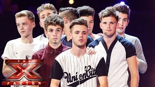 New Boy Band sing Leona Lewis' Run   Boot Camp   The X Factor UK 2014
