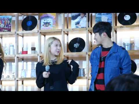 Jiwoo Introducing J.seph and her first impression of him [ENG SUB]